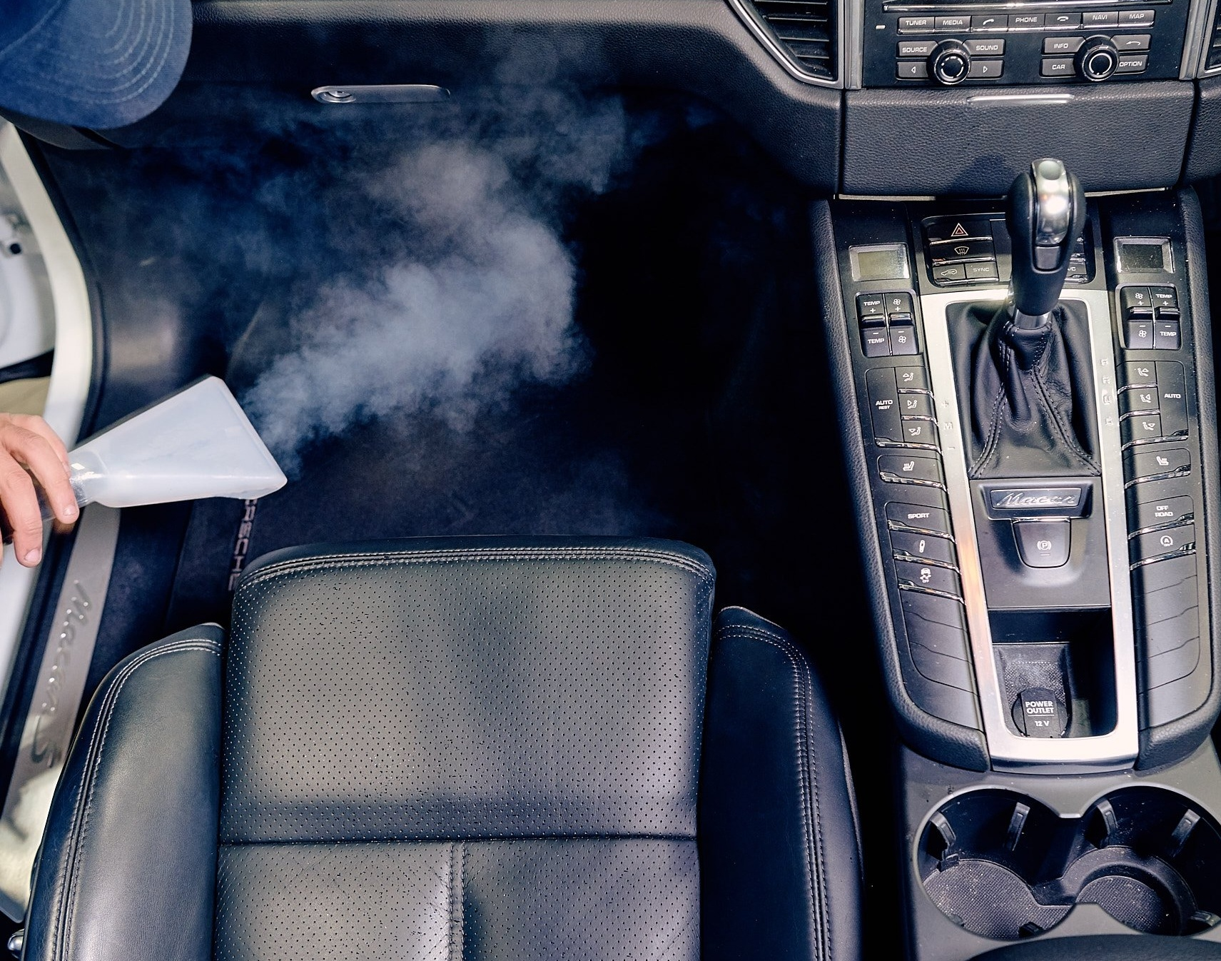Steam Cleaning Leather Seats