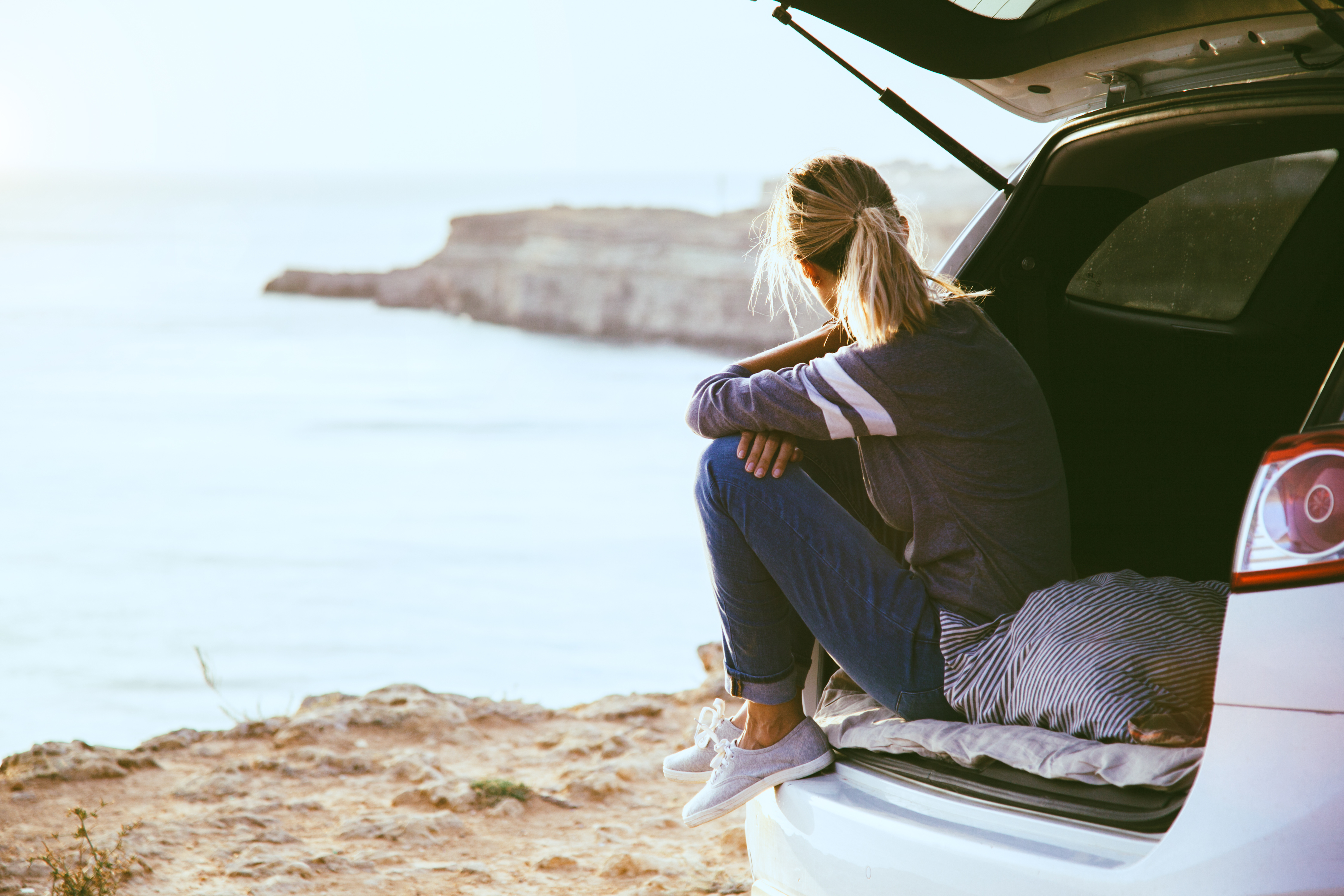 Packing your car for a camping trip